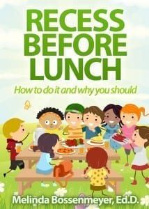 Recess Before Lunch Bk Cover