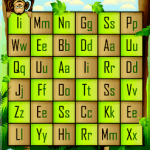 alphabet grid game