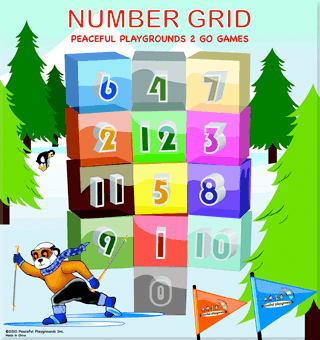 Number Grid 2 Go Games