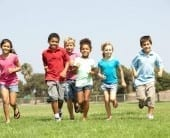 kids physically active