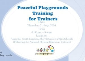 Peaceful Playgrounds Training