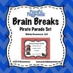 Brain Breaks Pirates Parade Cover