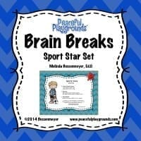 Brain Breaks Sports Stars