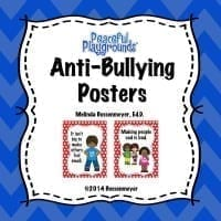Anti-Bullying Poster Cover