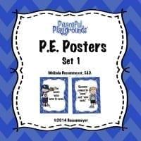 P.E. Posters Set 1