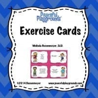Exercise Cards Product Cover
