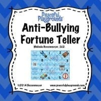 Anti-Bullying Fortune Teller Cov