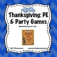 Thanksgiving Games Cov