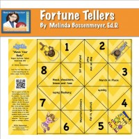 Fortune teller yellow Move your body8x8