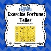 Exercise Fortune Teller Game