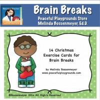 Brain Breaks Christmas Cov