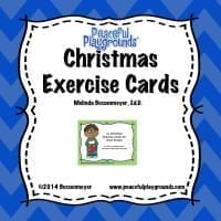 xmas Exercise Cards Cover