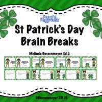 St Pat's Brain Breaks CovF