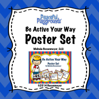 Be Active Poster Set